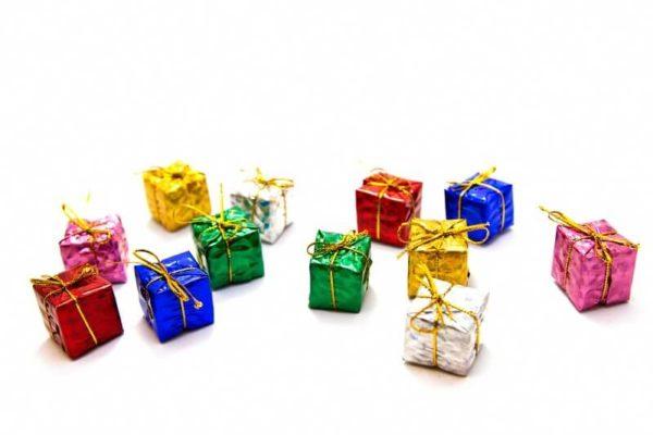 小さなプレゼントたくさん